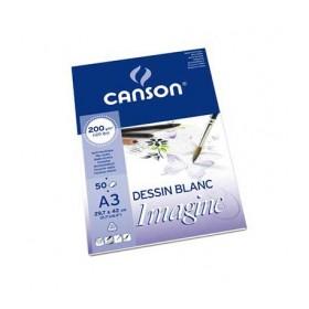 Canson Imagine Çok Amaçlı Blok 200 gr. 50 Sayfa A3