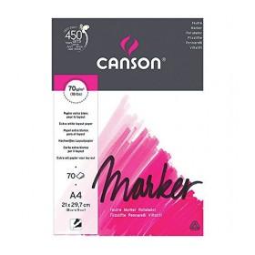 Canson Marker Layout Blok A4 70 gr. 70 Sayfa