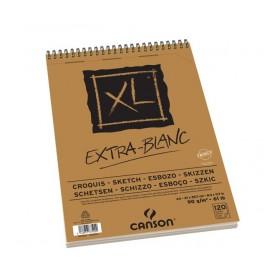 Canson XL Ekstra Beyaz Eskiz Defteri 90 gr. A4 100 Sayfa