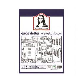Südor Mona Lisa Eskiz Defteri (Sketch Book) A4 120 gr. 50 yp.