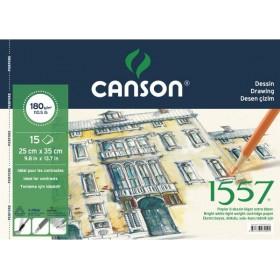 Canson 1557 Dessin Resim Ve Çizim Defteri 180 gr. 25x35 cm. 15 Sayfa