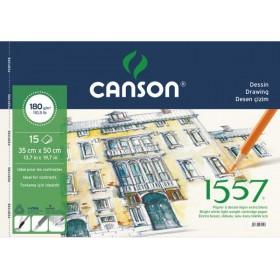 Canson 1557 Eskiz Ve Çizim Defteri 180 gr. 35x50 cm. 15 Sayfa
