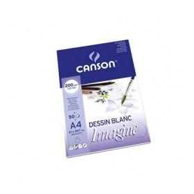 Canson Imagine Çok Amaçlı Blok 200 gr. 50 Sayfa A4