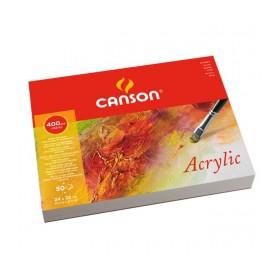Canson Montval Akrilik ve Suluboya Blok 400 gr. 24x32 cm. 10 Sayfa