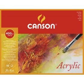 Canson Montval Akrilik ve Suluboya Blok 400 gr. 32x41 cm. 10 Sayfa