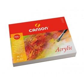 Canson Montval Akrilik ve Suluboya Blok 400 gr. 32x41 cm. 50 Sayfa