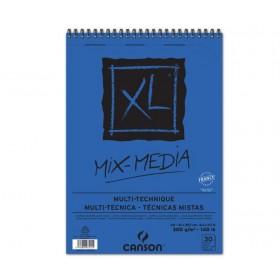 Canson XL Mix Media Spiralli Blok 300 gr. A4 30 Sayfa