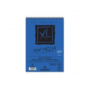 Canson XL Mix Media Spiralli Blok 300 gr. A5 15 Sayfa