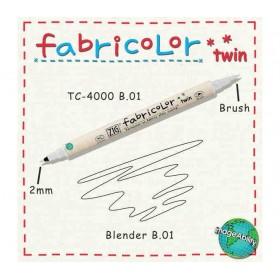 Zig Fabricolor Twin Çift Uçlu Kumaş Boyama Kalemi BLENDER (RENK AÇICI)