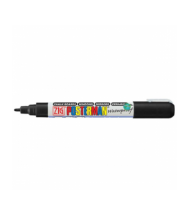 Zig Posterman Waterproof Boyama Markeri Fine Uç 1 mm BLACK