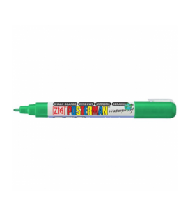 Zig Posterman Waterproof Boyama Markeri Fine Uç 1 mm GREEN