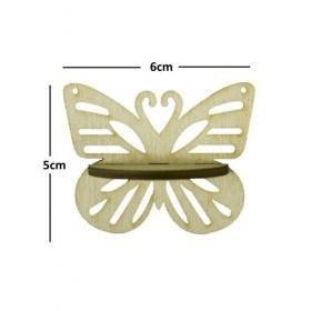 Kelebek Raf Minyatür Ahşap Obje KD-342