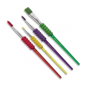 Faber Castell Soft Touch Fırça Seti 4'lü
