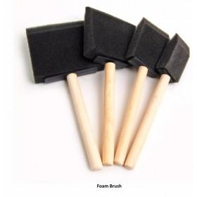 Foam Brush - Sünger Fırça Seti 4'LÜ