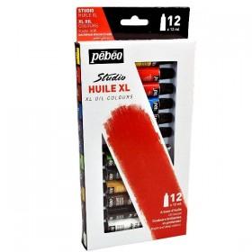 Pebeo Studio XL Yağlı Boya Seti 12 Renk x 12 ml.