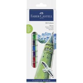 Faber Castell Yağlı Boya 12 Renk 12 ml.