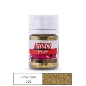 Artdeco 302 Altın Toz Sim (Glitter) 25ml