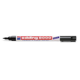 Edding 8000 Buzdolabı Kalemi SİYAH