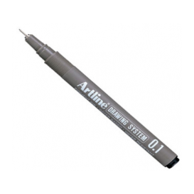 Artline Drawing System Teknik Çizim Kalemi 0.1 mm