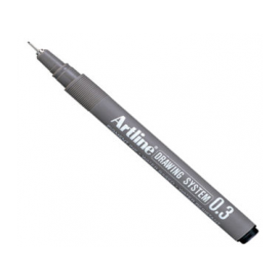Artline Drawing System Teknik Çizim Kalemi 0.3 mm