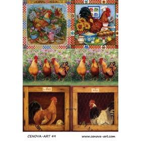 Cenova-Art 049 Dekupaj Deseni 35x50
