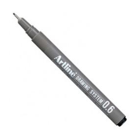 Artline Drawing System Teknik Çizim Kalemi 0.6 mm
