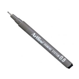 Artline Drawing System Teknik Çizim Kalemi 0.8 mm