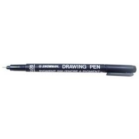 Snowman Drawing Pen Teknik Çizim Kalemi 0.05 SİYAH