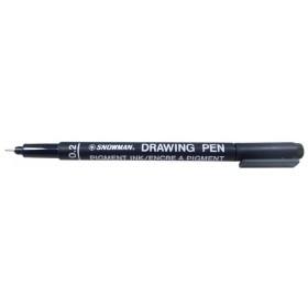 Snowman Drawing Pen Teknik Çizim Kalemi 0.2 SİYAH