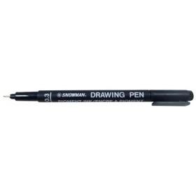 Snowman Drawing Pen Teknik Çizim Kalemi 0.3 SİYAH