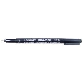 Snowman Drawing Pen Teknik Çizim Kalemi 0.4 SİYAH