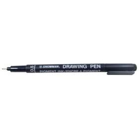 Snowman Drawing Pen Teknik Çizim Kalemi 0.5 SİYAH