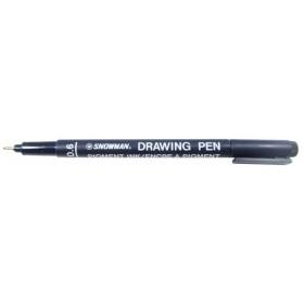 Snowman Drawing Pen Teknik Çizim Kalemi 0.6 SİYAH