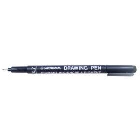 Snowman Drawing Pen Teknik Çizim Kalemi 0.7 SİYAH