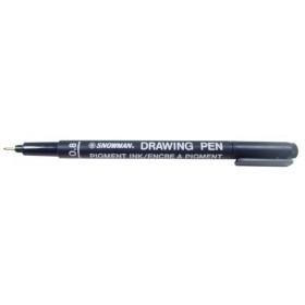 Snowman Drawing Pen Teknik Çizim Kalemi 0.8 SİYAH