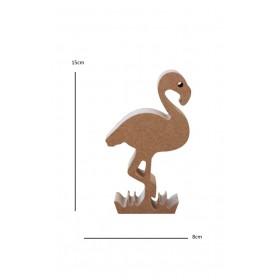 18mm Flamingo Ahşap Obje