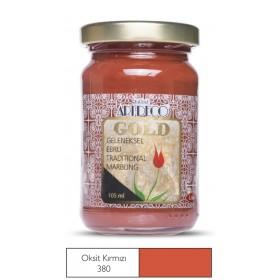Artdeco Geleneksel Ebru Boyası 105ml O.Kırmızı 380