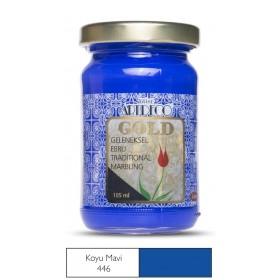 Artdeco Geleneksel Ebru Boyası 105ml Koyu Mavi 446