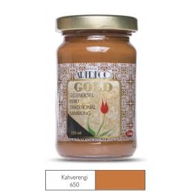 Artdeco Geleneksel Ebru Boyası 105ml Kahve 650