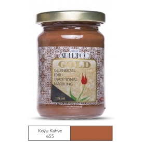 Artdeco Geleneksel Ebru Boyası 105ml K.Kahve 655