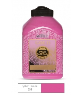 Artdeco Multi Surface Akrilik Boya 500ml Şeker Pembe 253