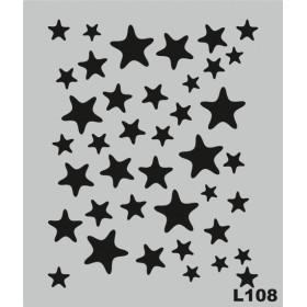 L108 Stencil 20x24 cm