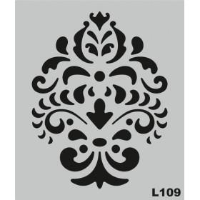 L109 Stencil 20x24 cm