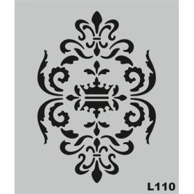 L110 Stencil 20x24 cm