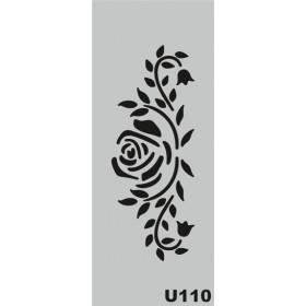 U110 Stencil 10x25 cm