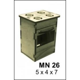 Fırın Minyatür Ahşap Obje 7x5x4cm