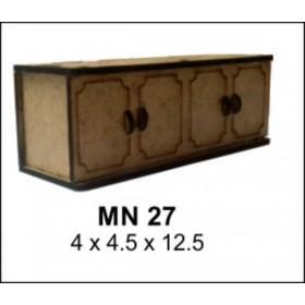 Konsol Minyatür Ahşap Obje 12x4x4cm
