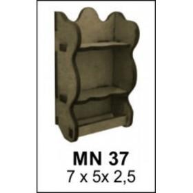 Terek Minyatür Ahşap Obje 7x5x2cm