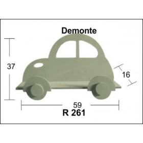 Araba Raf (Demonte) 59x37x16cm Ahşap Obje