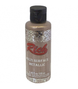 Rich Multi Surface Metalik Boya 130cc - 6526 LATTE